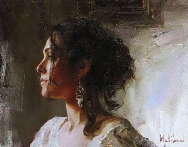 Михаил и Инесса Гармаш. Портреты живопись. Картина седьмая