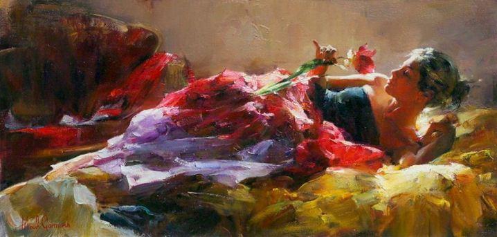 Михаил и Инесса Гармаш. Портреты живопись. Картина восемнадцатая