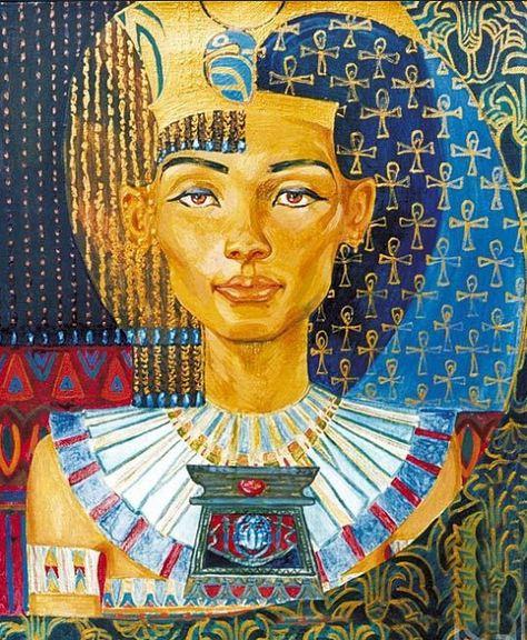 Fattah Hallah Abdel. Египетские картины. Картина первая. Холст масло