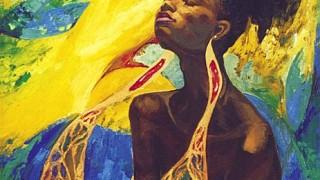 Fattah Hallah Abdel. Египетские картины. Музыка солнца. 100х100. Холст масло