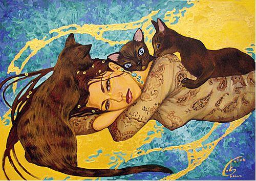 Fattah Hallah Abdel. Египетские картины. Мягкость. 90х70. Холст масло