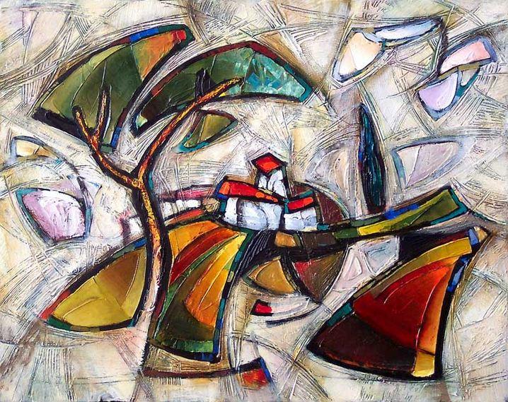 Израильский художник Nathan Brutsky. Картина четырнадцатая