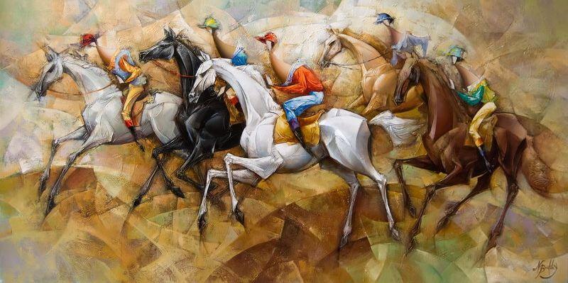 Израильский художник Nathan Brutsky. Картина десятая