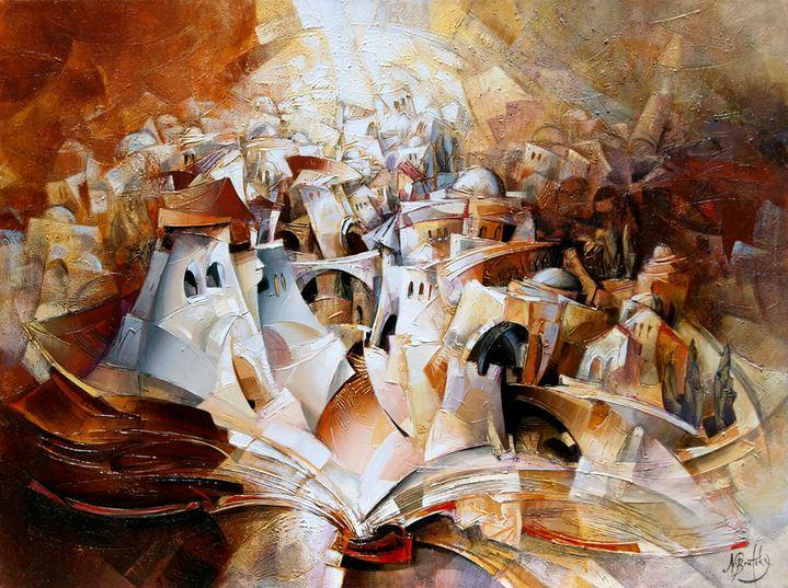 Израильский художник Nathan Brutsky. Картина девятая