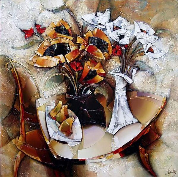 Израильский художник Nathan Brutsky. Картина двенадцатая