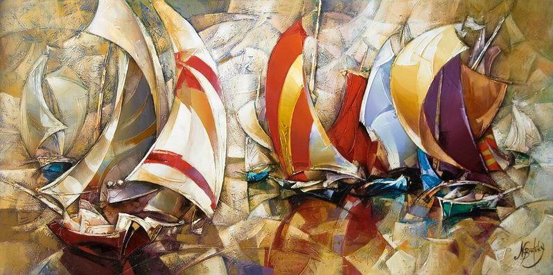 Израильский художник Nathan Brutsky. Картина одинадцатая