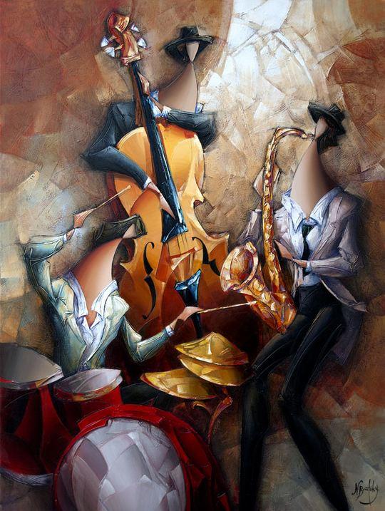Израильский художник Nathan Brutsky. Картина пятая
