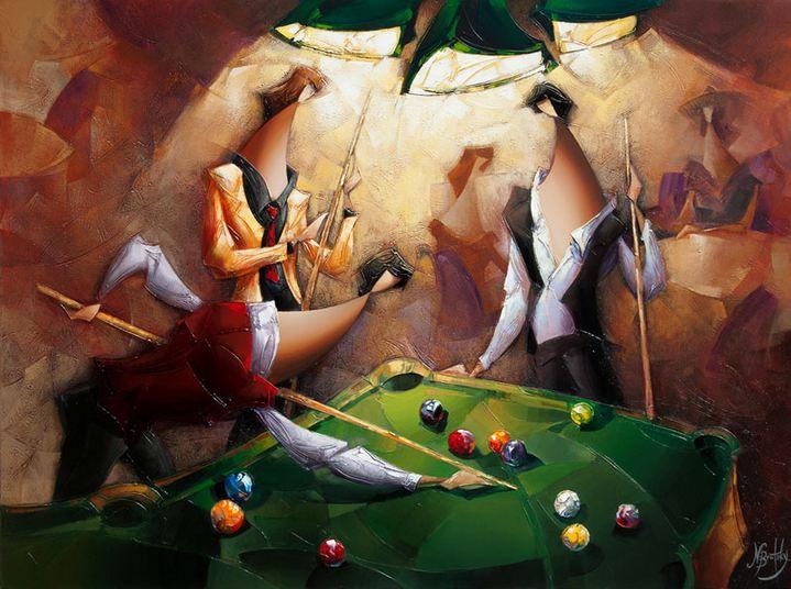 Израильский художник Nathan Brutsky. Картина седьмая