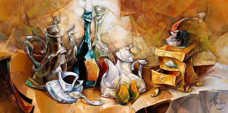 Израильский художник Nathan Brutsky. Картина шестнадцатая