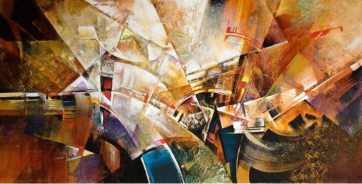 Израильский художник Nathan Brutsky. Картина тринадцатая