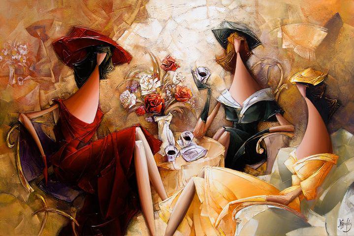 Израильский художник Nathan Brutsky. Картина вторая