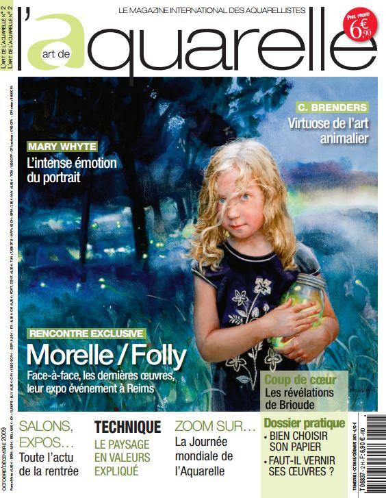 Mary Whyte в журнале Акварель. Октябрь 2009
