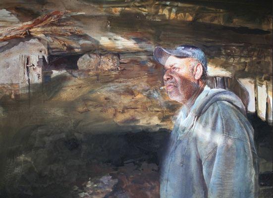 Mary Whyte. Портреты акварелью. Двенадцатый