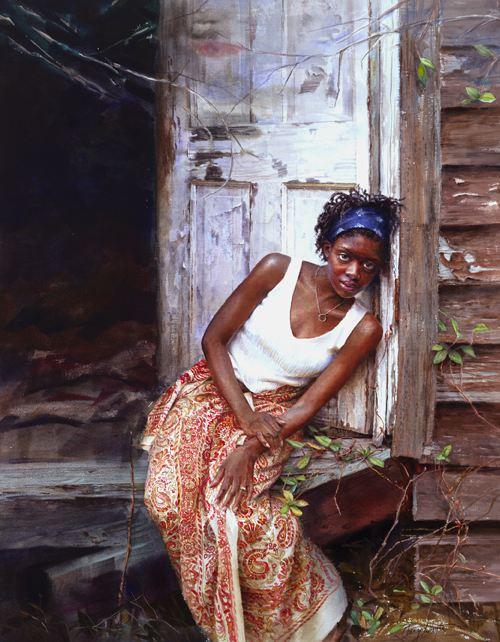 Mary Whyte. Портреты акварелью. Третий
