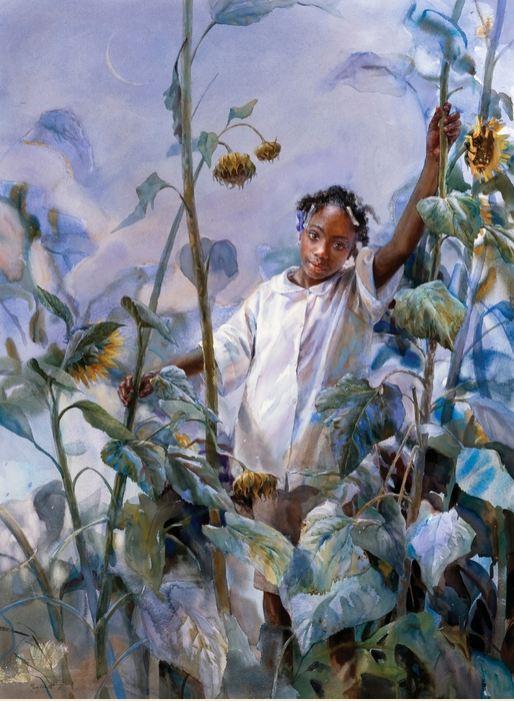 Mary Whyte. Портреты акварелью. Второй