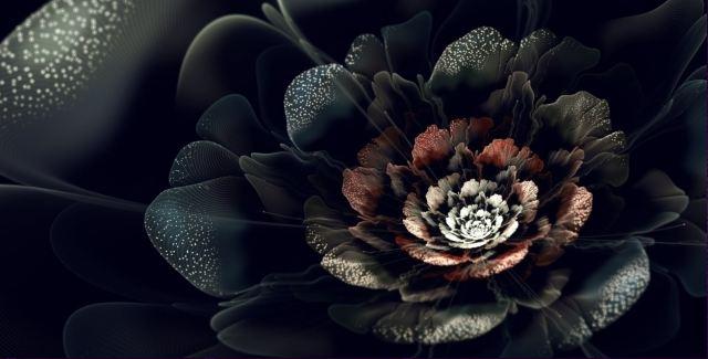 Современное искусство. Silvia Cordedda. Фрактальная графика. Одинадцатая