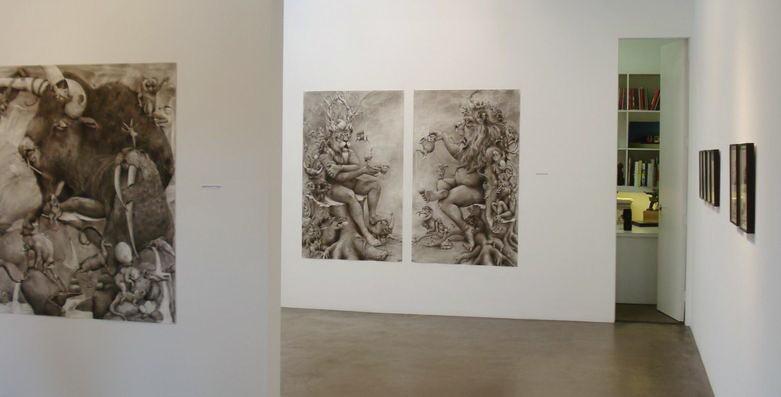 ArtPrize 2012. Adonna Khare и ее большие рисунки. Еще с другой выставки