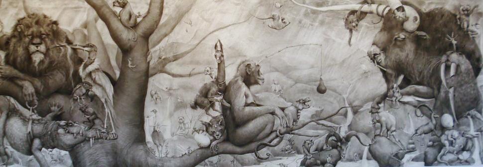 ArtPrize 2012. Adonna Khare и ее большие рисунки. С другой выставки