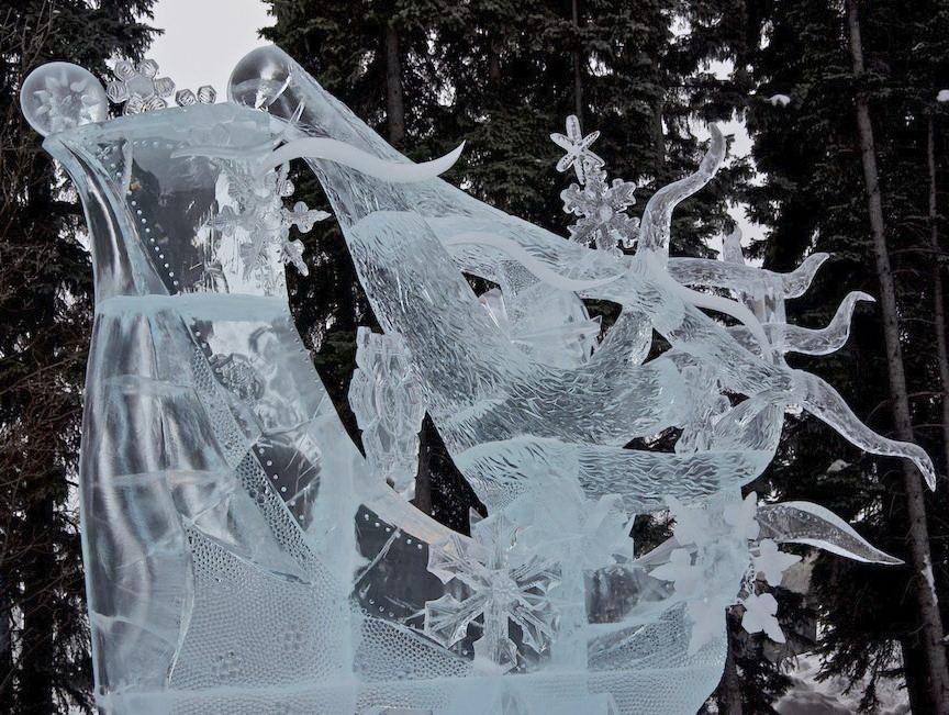 Ice Alaska 2013. Multi block. Абстракция. 1 место. Winter Breeze. Фрагмент