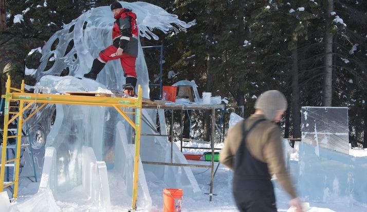 Ice Alaska 2013. Multi block. Абстракция. 2 место.  Надежда. Для оценки масштаба