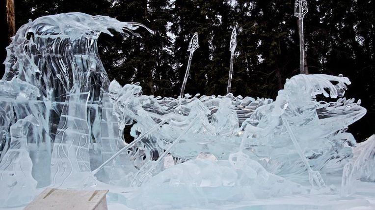 Ice Alaska 2013. Multi block. Абстракция. 2 место.  Надежда