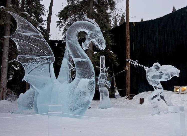 Ice Alaska 2013. Multi block. Реалистика. 1 место. Hunting Dragons. Другой ракурс