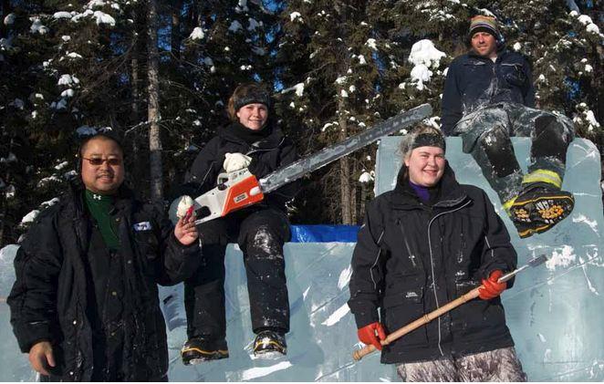 Ice Alaska 2013. Multi block. Реалистика. 2 место. Foltz Chris, Poynter Woojay, Howell Jillian, Rombach Amelia. США