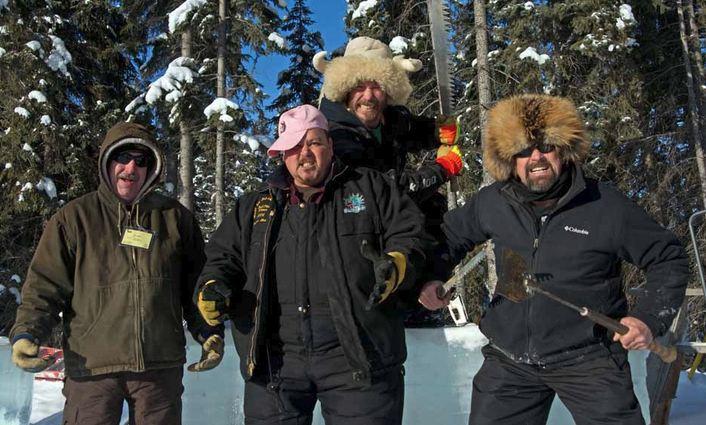 Ice Alaska 2013. Multi block. Реалистика. 3 место. Unstoppable. Laughlin Keven, Vose Sam, Bourdeau David, Eady Carl. США