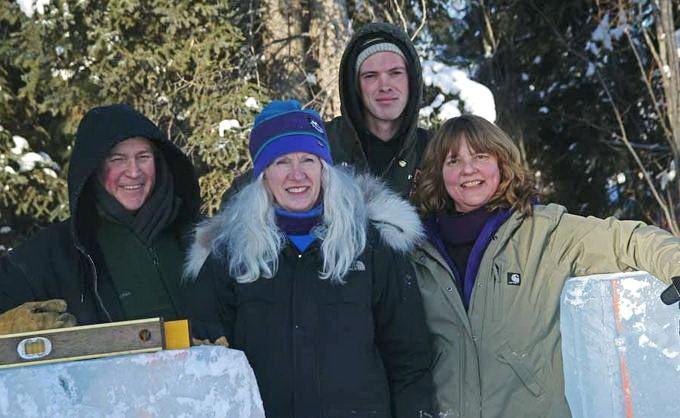 Ice Alaska 2013. Multi block. Реалистика. 5 место. Расщелина в леднике. Tabor Anita, Hardin Jacob, Eaton Gina, Bartholomew Greg. США