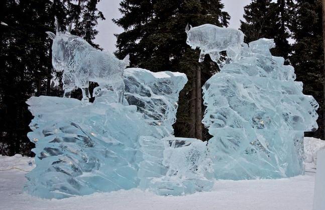 Ice Alaska 2013. Multi block. Реалистика. 5 место. Расщелина в леднике