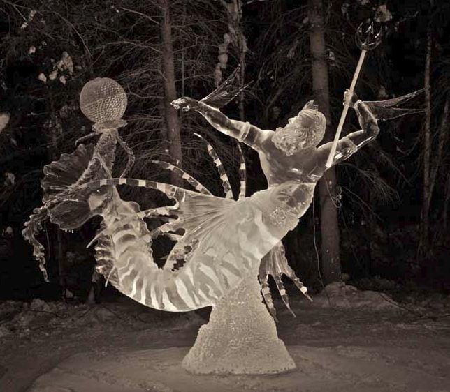 IceAlaska 2013. 2 место в категории Реалистика. Король Лев. Dagatan Victor и Duggan James. Филиппины и США