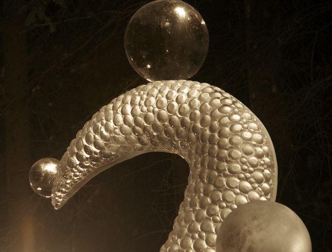 IceAlaska 2013. 5 место в категории Абстракция. Octopus Garden. Фрагмент