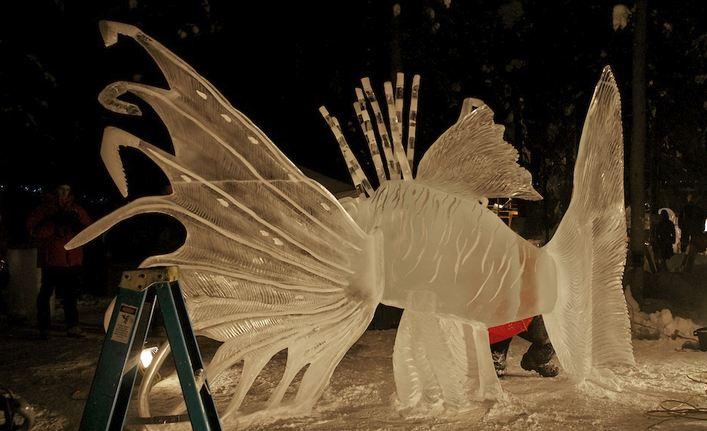 IceAlaska 2013. 5 место в категории Реалистика. Rascasse. Другой ракурс. Amegee Mario и Moehlin Jeff. Монако и США