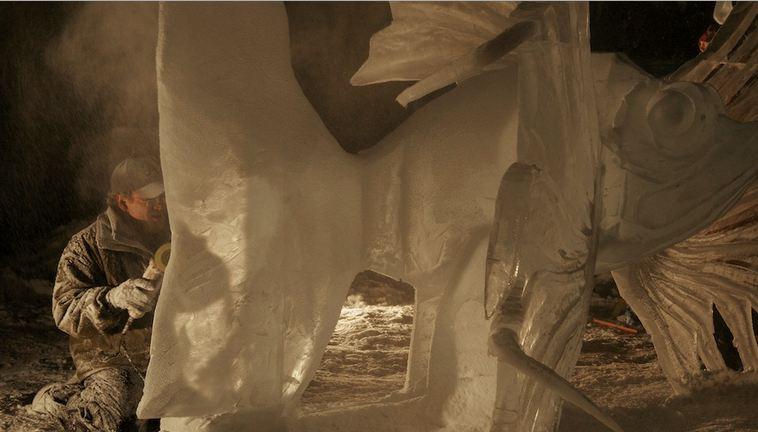 IceAlaska 2013. 5 место в категории Реалистика.  Rascasse. В процессе
