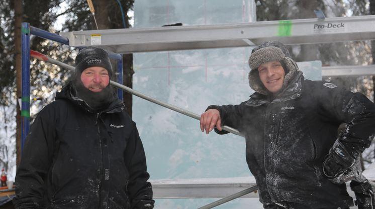 IceAlaska 2013. Groszkiewicz  Bradley и Bock Allan. США