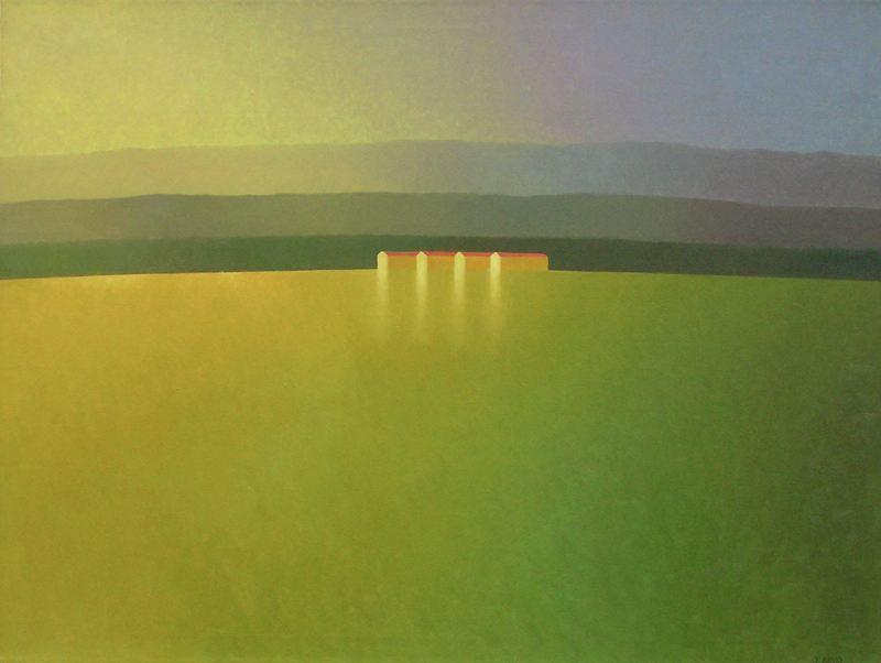 Josе Basso. Минимализм в изобразительном искусстве. Картина девятая