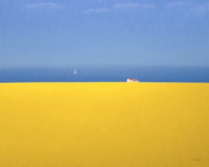 Josе Basso. Минимализм в изобразительном искусстве. Картина тринадцатая