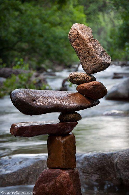Michael Grab. Каменное равновесие. Композиция четвертая