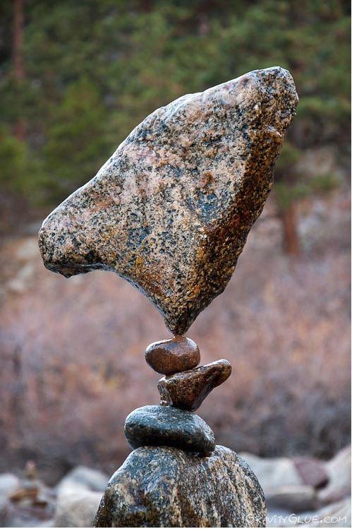 Michael Grab. Каменное равновесие. Композиция девятая