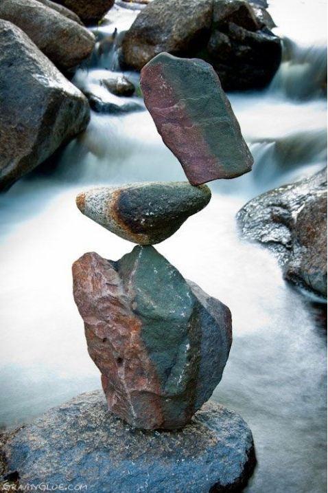 Michael Grab. Каменное равновесие. Композиция двадцать пятая