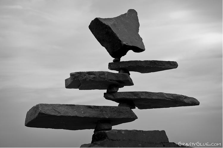 Michael Grab. Каменное равновесие. Композиция двадцать вторая