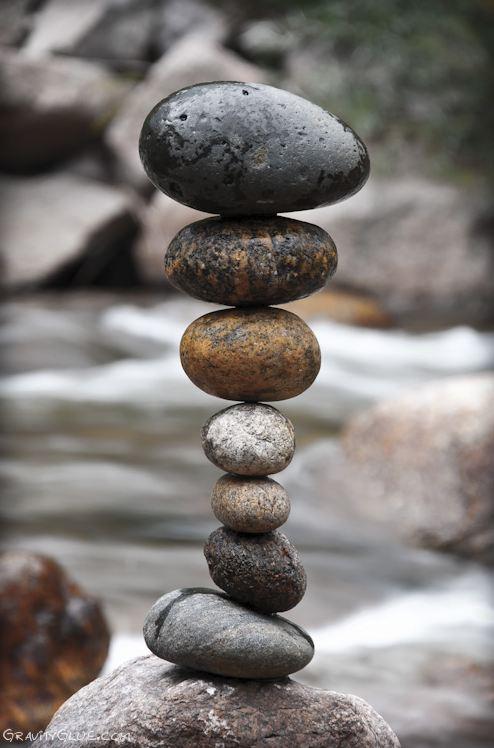Michael Grab. Каменное равновесие. Композиция двадцатая