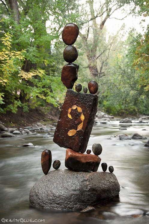 Michael Grab. Каменное равновесие. Композиция шестнадцатая