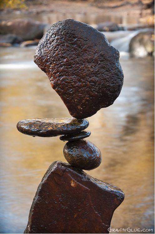 Michael Grab. Каменное равновесие. Композиция восьмая