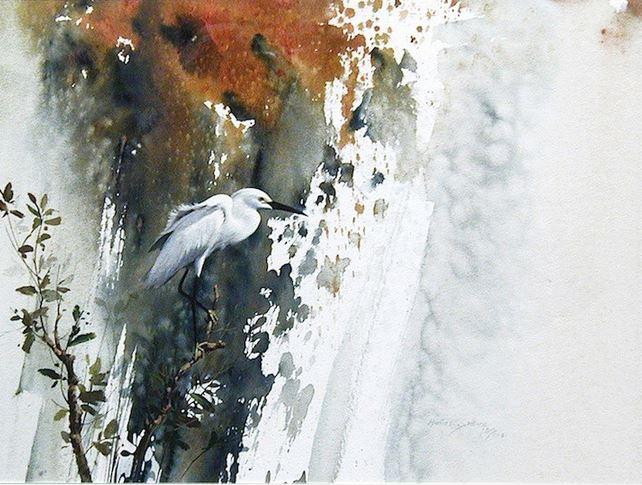 Morten E. Solberg. Животные акварелью. Пятаяакварель