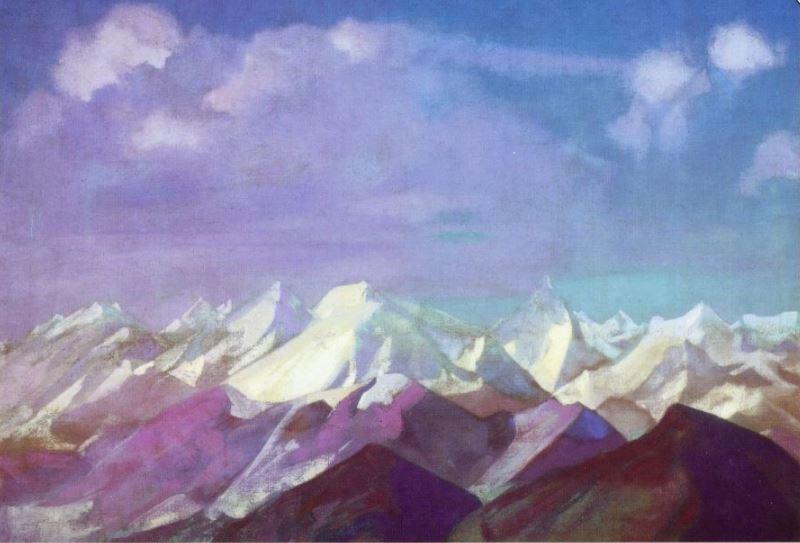 Святослав Рерих. Духовное искусство. Ледниковые горы