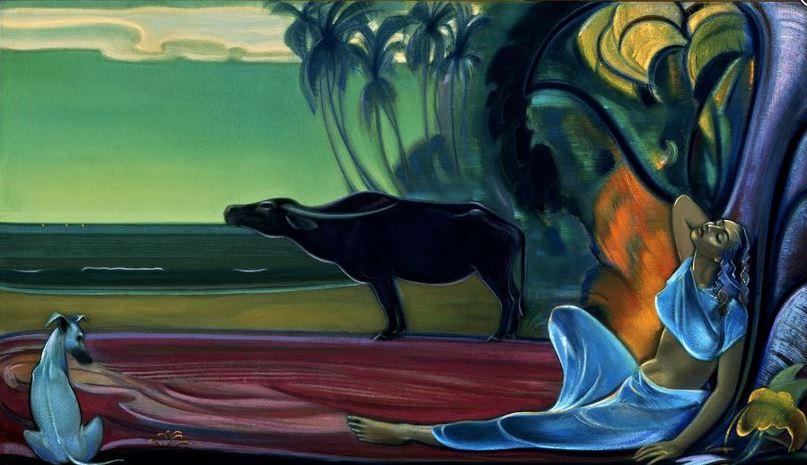 Святослав Рерих. Духовное искусство. Молчание. 1964