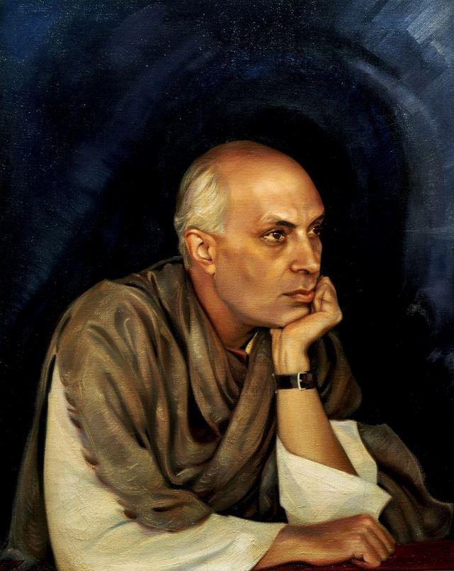 Святослав Рерих. Духовное искусство. Пандит Джавахарлал Неру. 1942