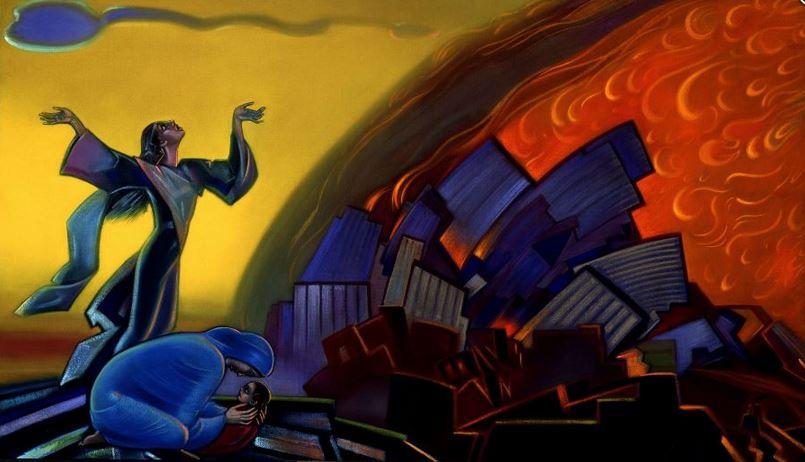 Святослав Рерих. Духовное искусство. Ты не должен видеть этого пламени