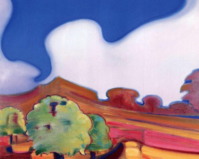 Святослав Рерих. Духовное искусство. Весна. 60х91 Холст, масло. 1970
